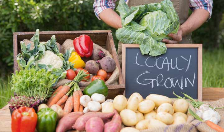 locally grown products